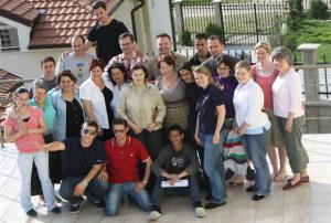 Group Shot outside the Smile Centre