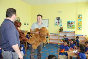 Brekoc Community Centre - Big Ted