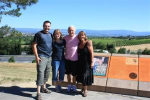 With Doug & Di in the South of France